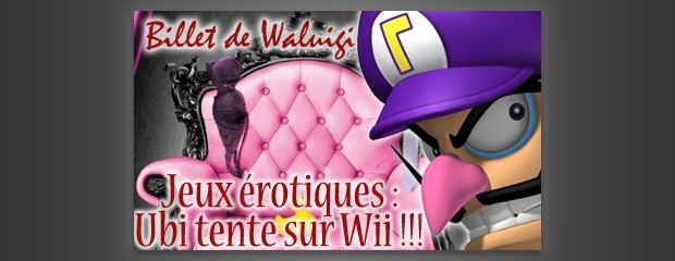 Jeux érotiques pour Nintendo Wii