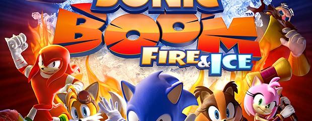 Test de Sonic Boom: le Feu et la Glace