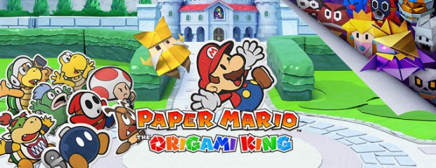 Preview de Paper Mario: The Origami King