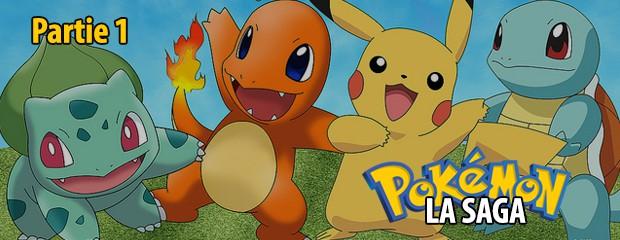Retour sur... la saga Pokémon (1e partie)