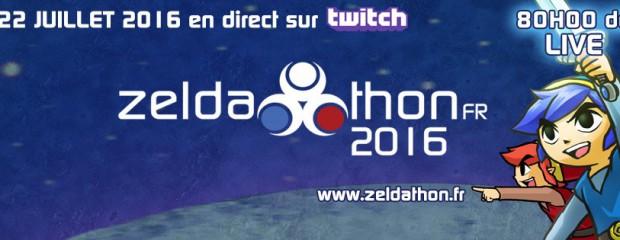Suivez le ZeldathonFR ce week-end !