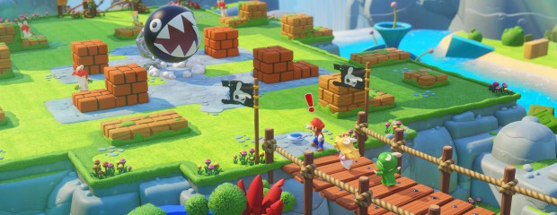 Preview Mario + The Lapins Crétins sur Switch