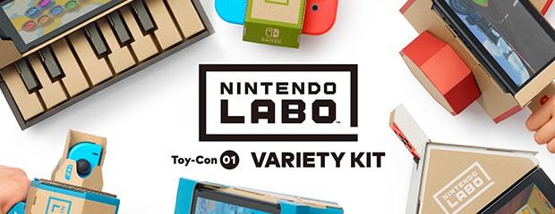Découvrez Nintendo Labo !