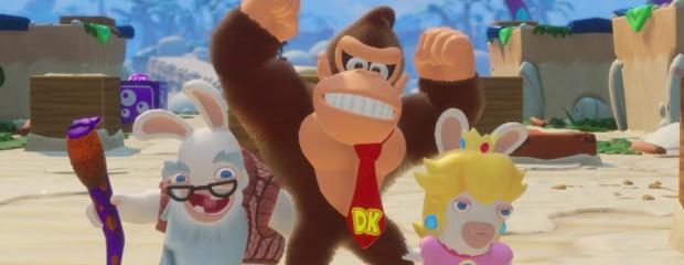 Mario + The Lapins Crétins: preview du DLC DK