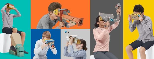 La réalité virtuelle arrive sur Switch