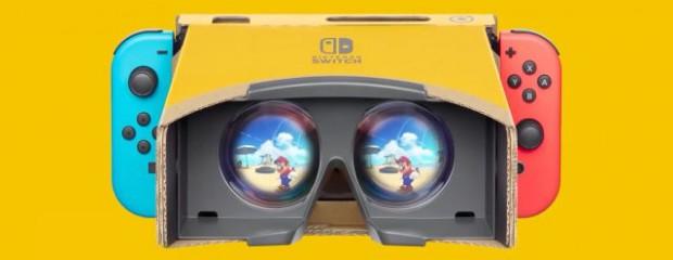 1e rencontre avec le kit VR Nintendo Labo