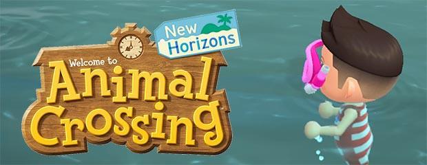 MAJ Animal Crossing : la baignade