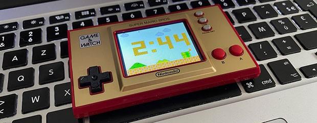 La Game & Watch Super Mario Bros est là