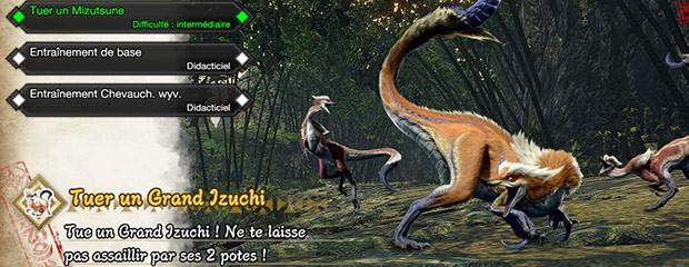On a déjà joué à la démo de Monster Hunter Rise :)