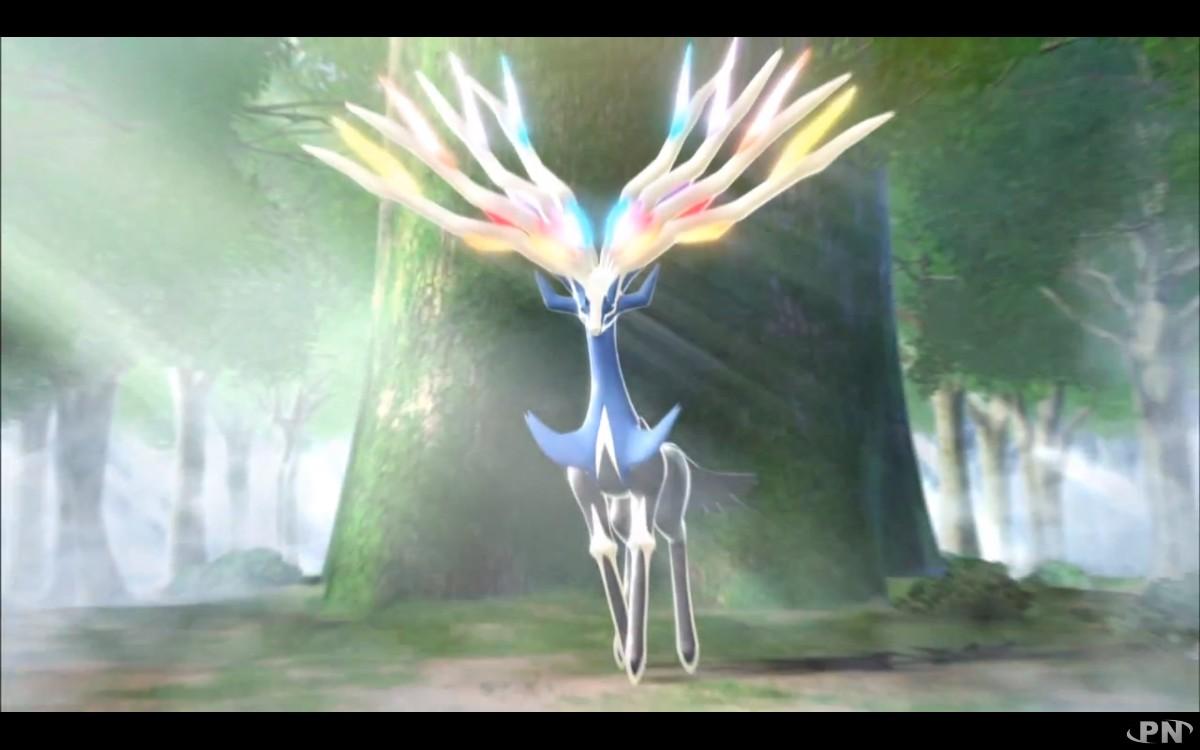 Pok mon x et y le nom des l gendaires d voil et courte - Pokemon x et y legendaire ...