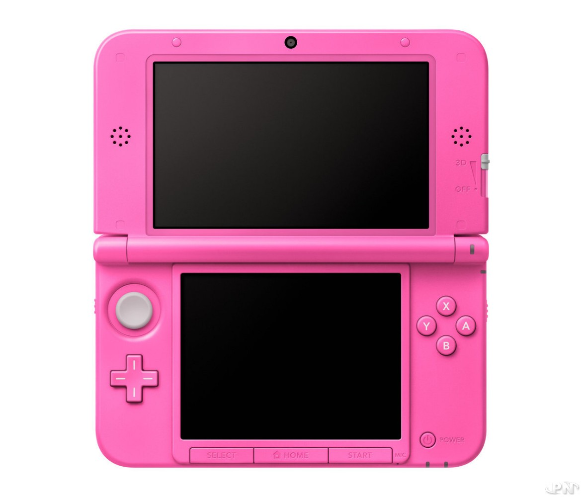europe une 3ds xl rose disponible le 31 mai. Black Bedroom Furniture Sets. Home Design Ideas