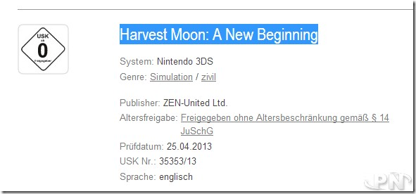 Harvest moon a new beginning dating