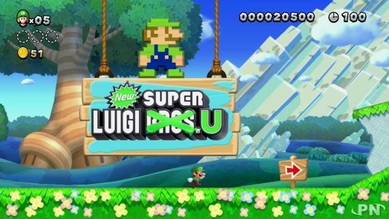 Luigi pique la vedette à Super Mario dans NEW Super Luigi U sur Wii U !