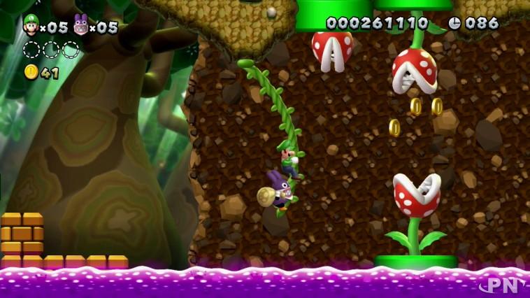 New Super Luigi U : on y retrouve les sprites du spin-off dont il est issu.