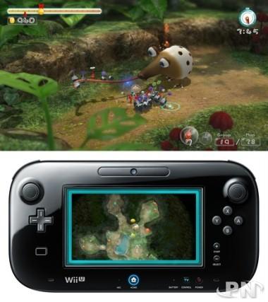 Sur Wii U, le GamePad avait un réel intérêt pour Pikmin 3