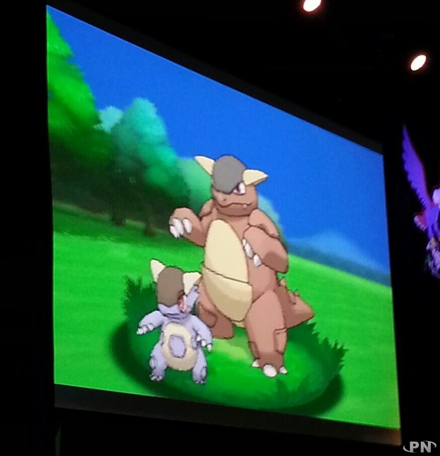Pok mon x et y m ga kangourex d voil lors des pwc - Pokemon mega kangourex ...