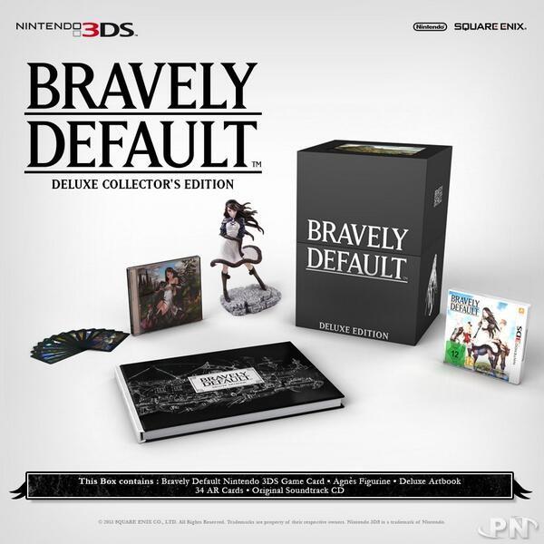 Bravely Default : Une édition Collector spéciale européenne 5267b1af72f7cd
