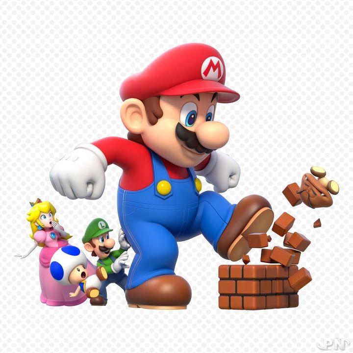 Age de Super Mario : 24-25 ans