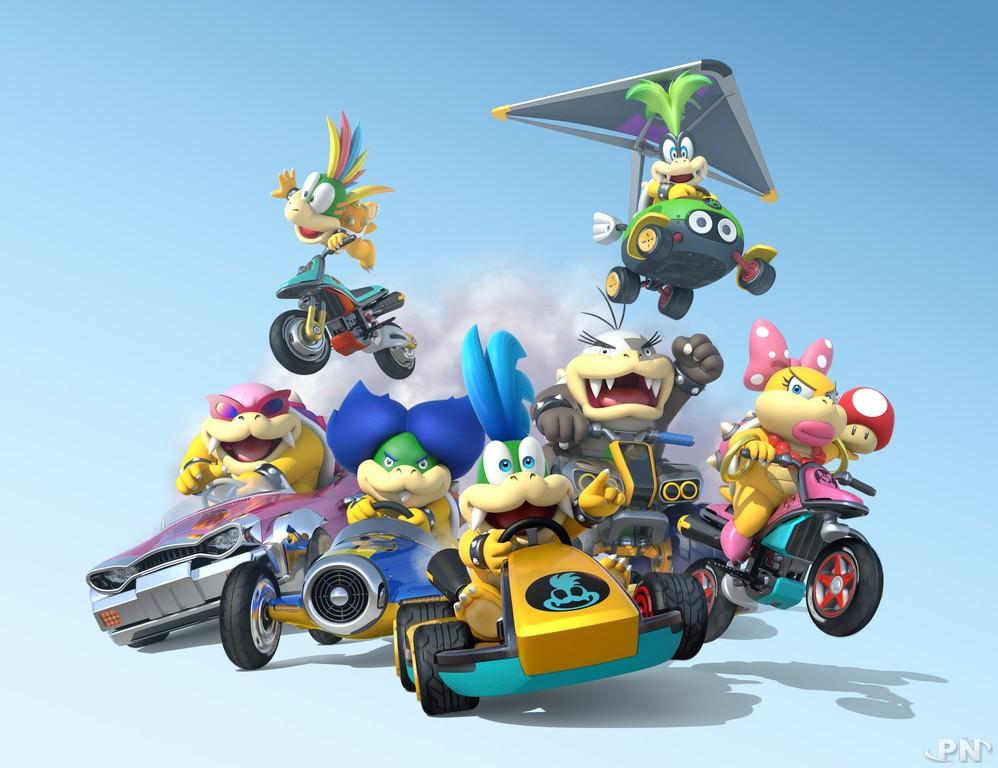 Mario Kart 8 : les Koopalings sont de la partie !