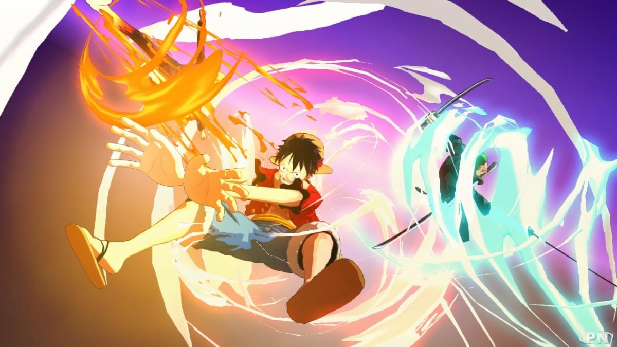 Capture d'écran du jeu One Piece Unlimited Adventure sur Wii U