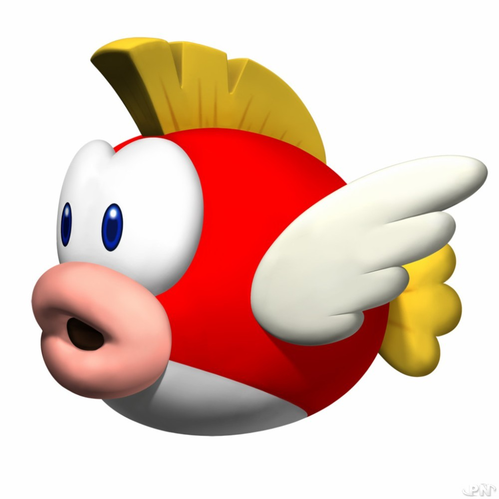 Poisson d'avril Nintendo avec Cheep Cheep !