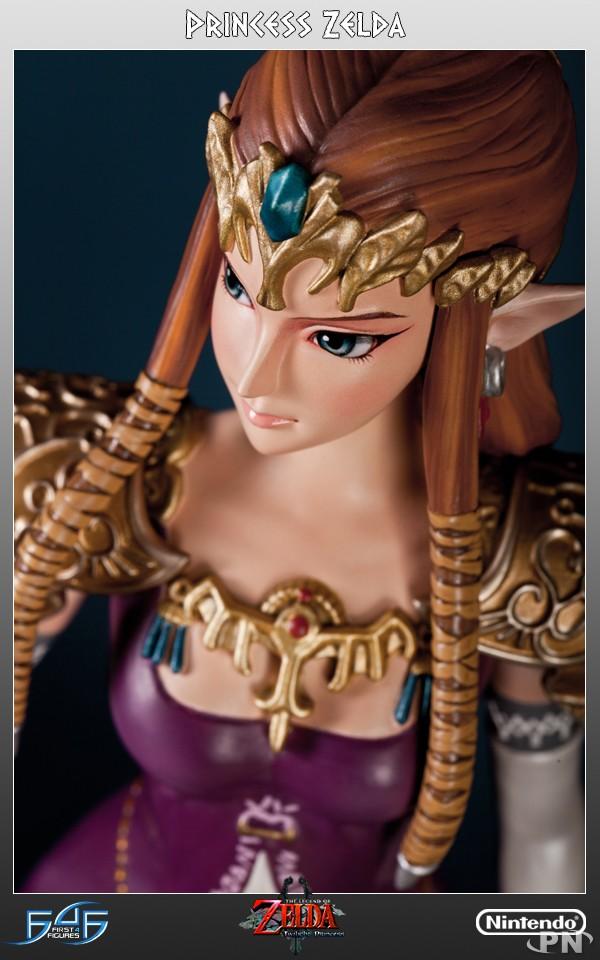 Une statue collector de la princesse zelda - La princesse zelda ...