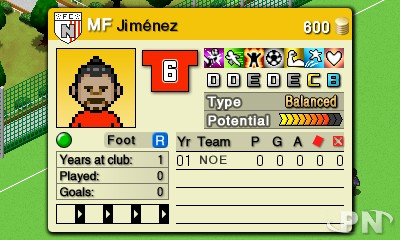 Nintendo Pocket Football Club : Star, grand espoir ou coupeur de citrons ?