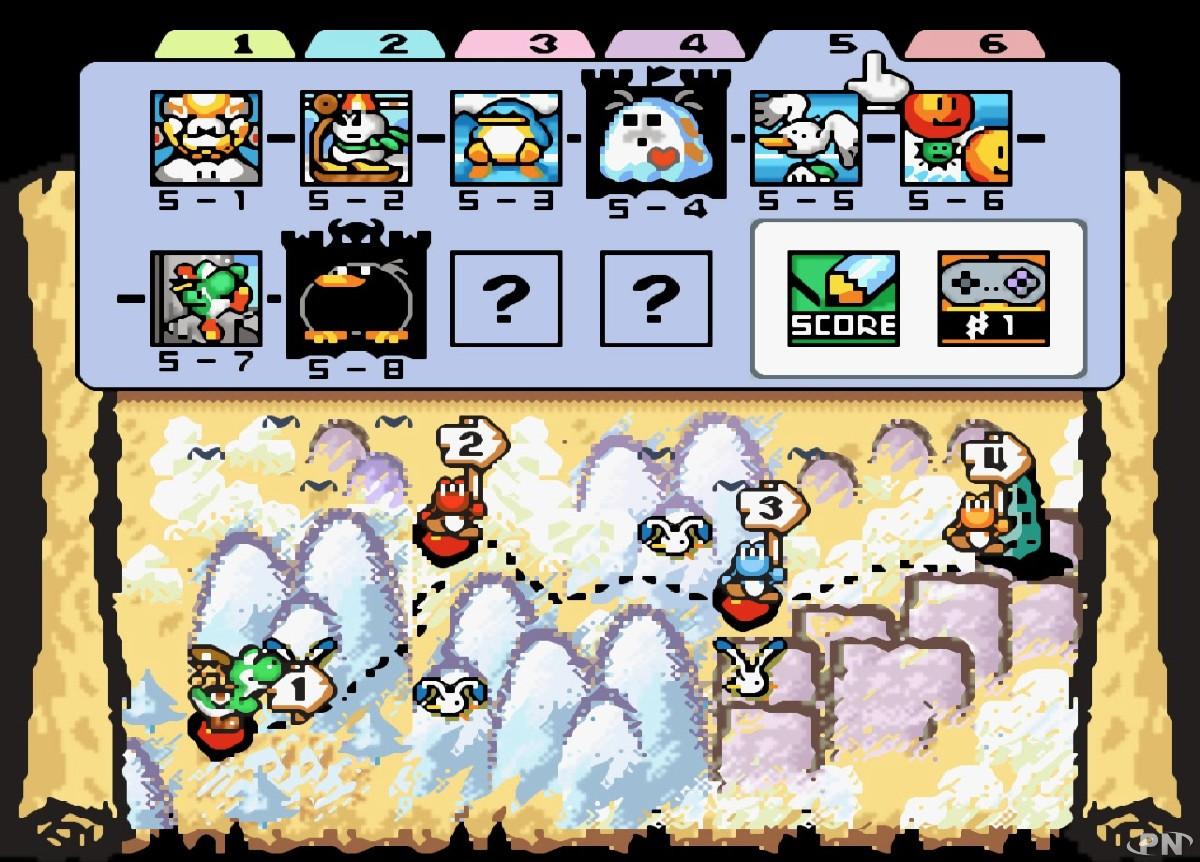 Image du jeu Yoshi's Island sur Super Nintendo