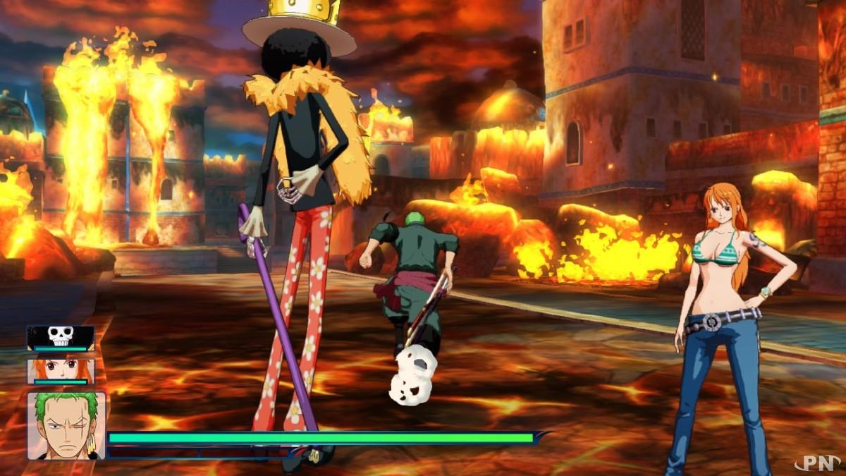 Mais pourquoi Luffy saut-il de joie ainsi ?