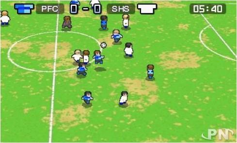 Nintendo Pocket Football Club : La route vers la gloire passe par d'abord par des champs de patates.
