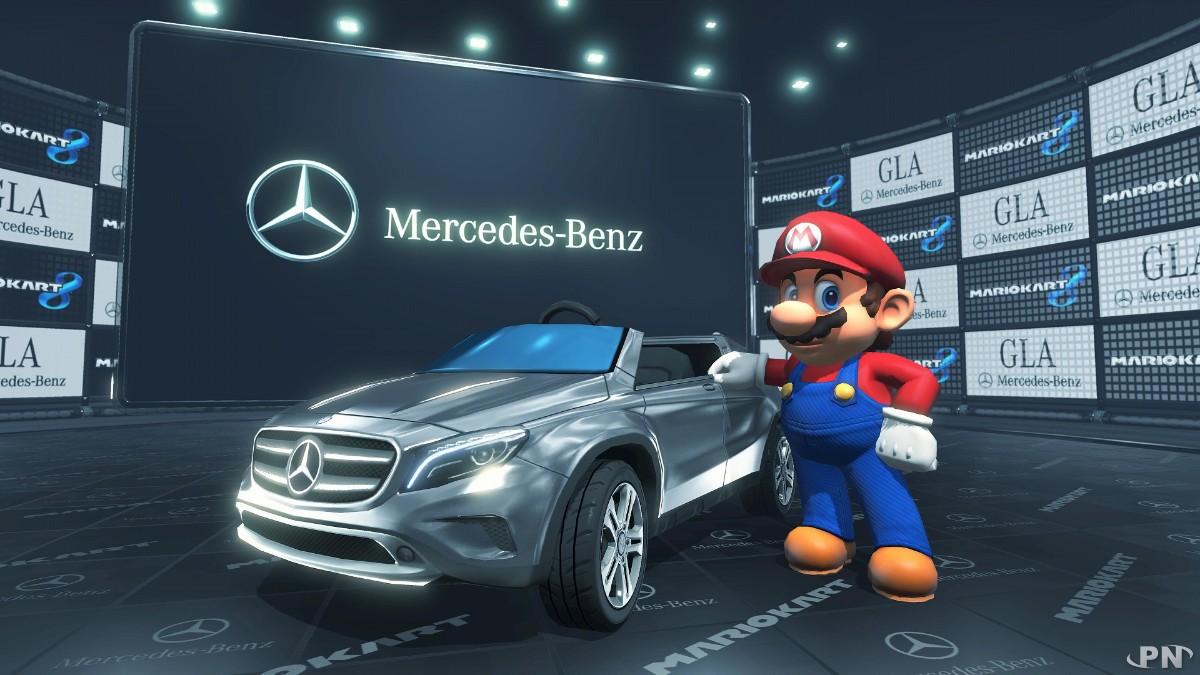 Mario Kart 8 : une collaboration avec Mercedes 5386f50d9529c1