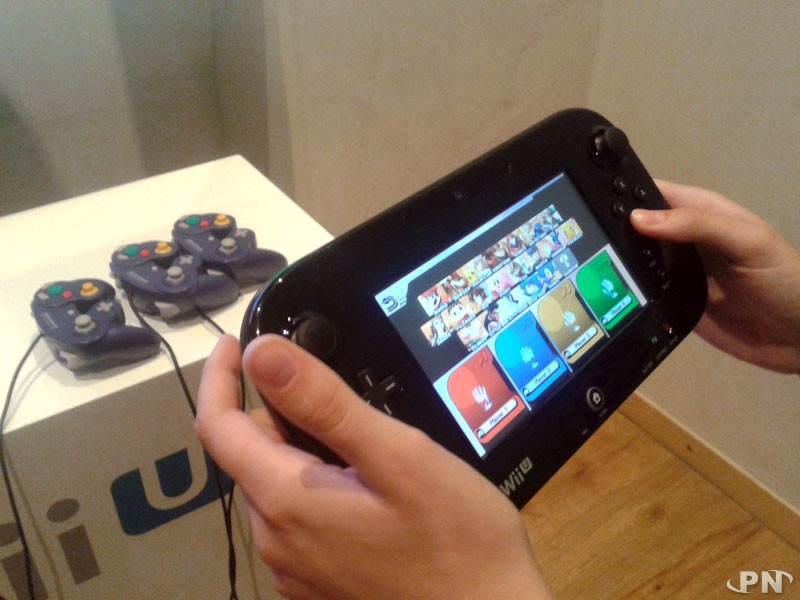 Smash Bros sur Wii U avec le GamePad