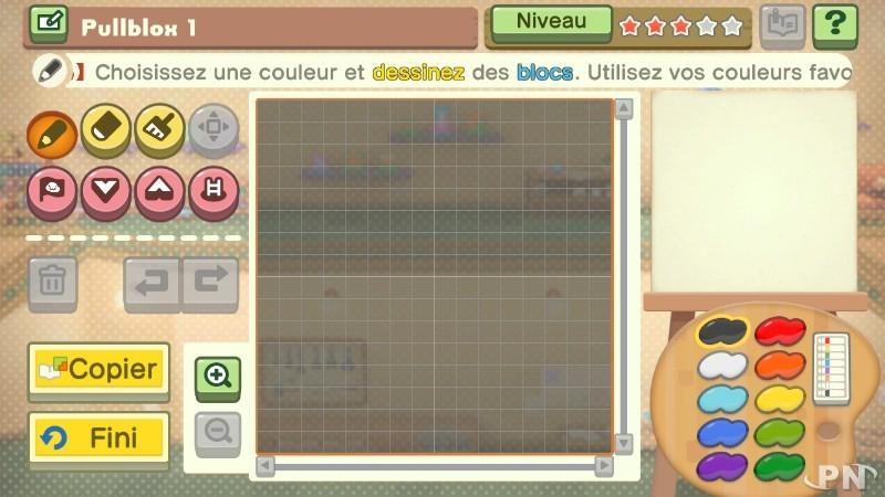 La Wii U a son Pullblox : Pullblox World