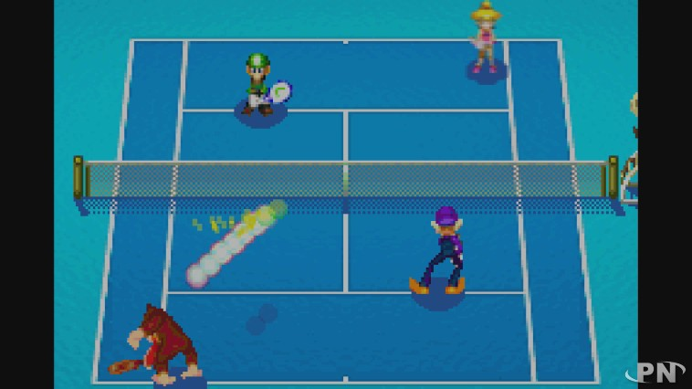 mario power tennis  cv