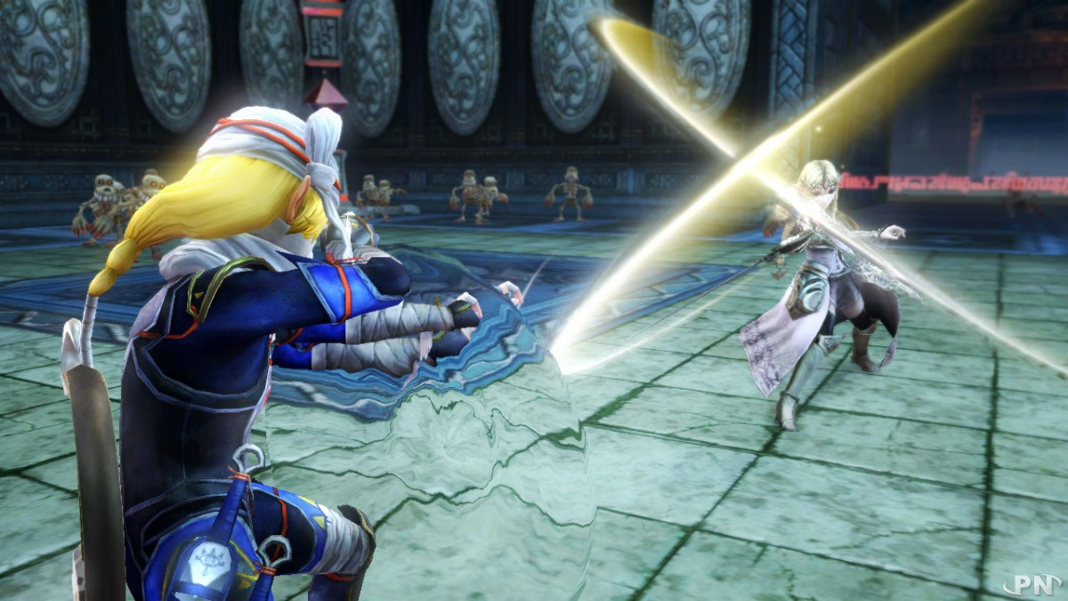 Du beau monde à combattre (Hyrule Warriors Wii U)