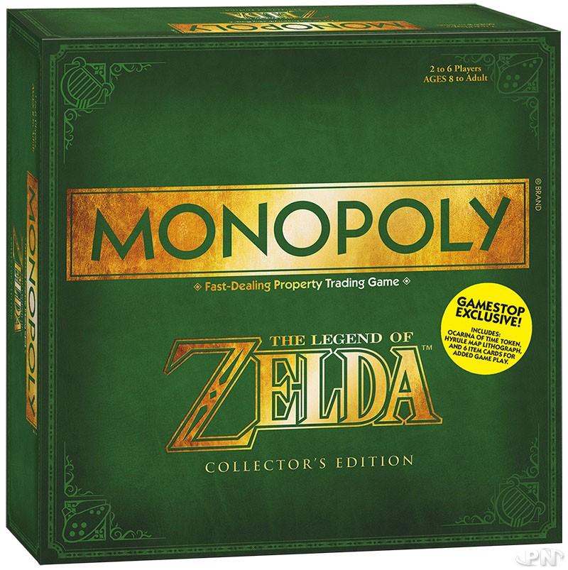 Monopoly Zelda : Edition collector