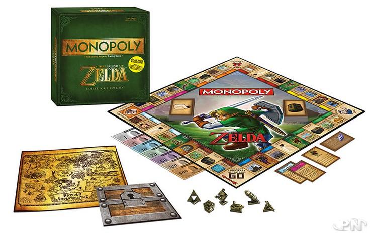 Contenu du jeu Monopoly The Legend of Zelda