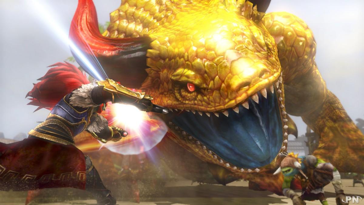 Des monstres gigantesques à combattre !