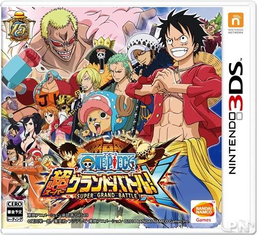 One Piece Nds: Super Grand Battle! X : Images, Jaquette Et