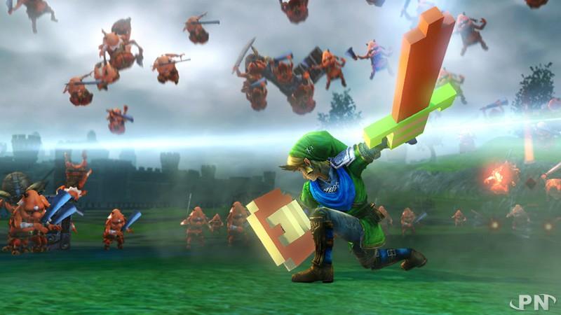 Des épées amusantes mais néanmoins puissantes (Hyrule Warriors Wii U)