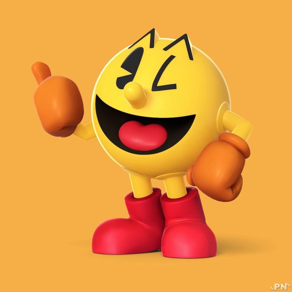 Pac Man est un des nombreux personnages de Smash Bros 3DS