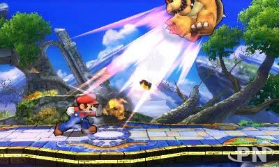 Super Mario gagne toujours (Smash Bros 3DS)