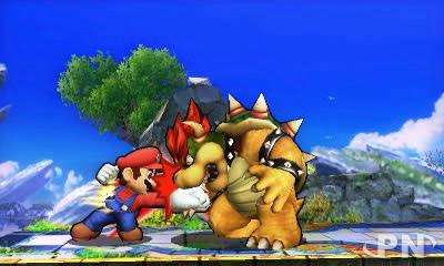Smash Bros 3DS : Super Mario contre Bowser