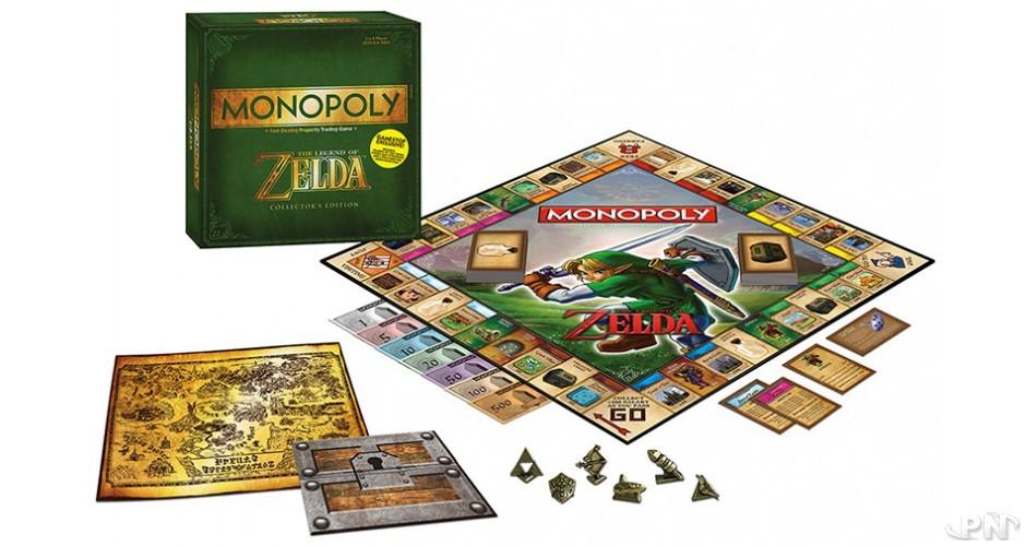 Contenu du Monopoly Zelda FR Micromania