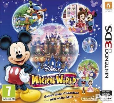 Jeu Disney Magical World sur Nintendo 3DS