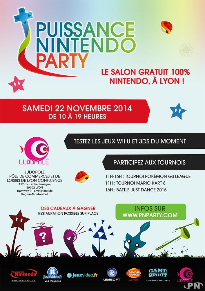 PN Party : affiche