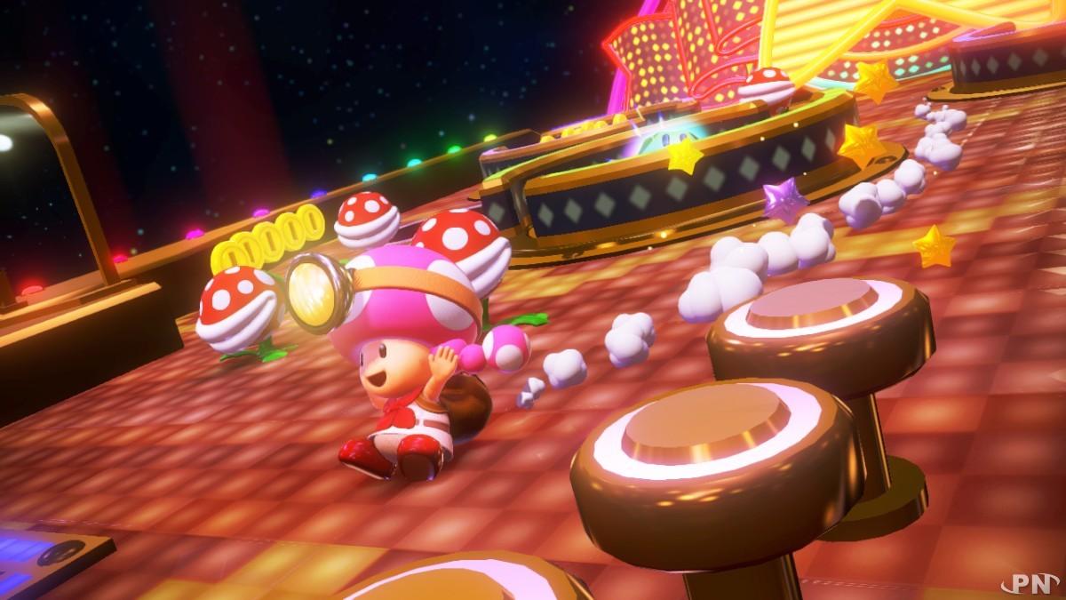 Un niveau super original à découvrir dans Captain Toad Treasure Tracker sur WIi U !