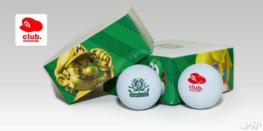 Club Nintendo : des balles de golf Mario (Europe) < News < Puissance Nintendo