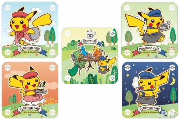 sous-verre Pokémon en série limitée au Japon