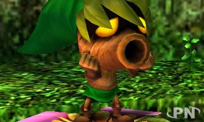 Screenshot The Legend of Zelda : Majora's mask 3D